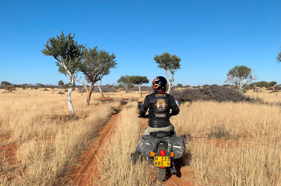 Royal Enfield Classic 500 in Namibia